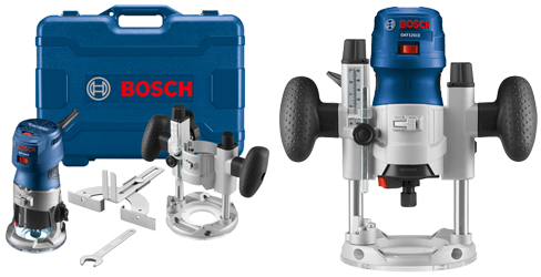 Bosch Variable-Speed Palm Router Combination Kit