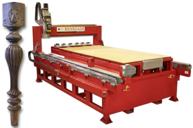 Legacy's new Renegade CNC machine