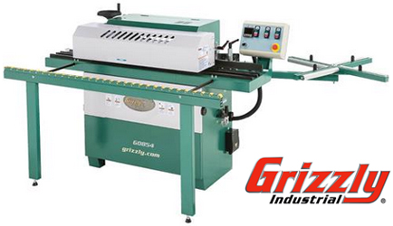 The Grizzly Model G0854Compact Automatic Edgebander