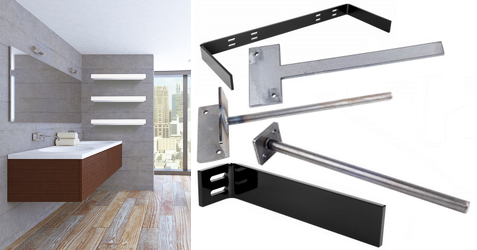 Federal Brace introduces five new floating shelf brackets for woodworkers
