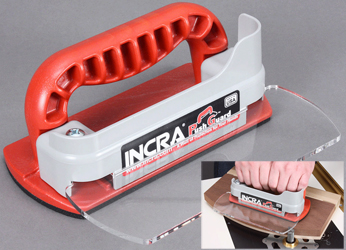 The INCRA PushGuard is a sensible, safe option for woodworkers