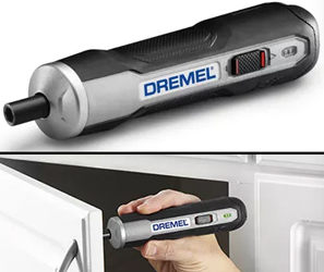 The Dremel Go is a cordless screwdriver that you push to start