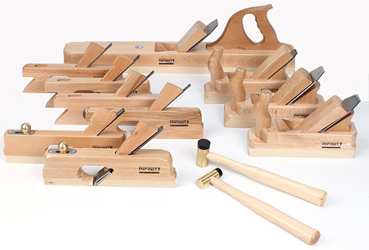 Infinity Tools has introduced several new beech hand planes that are made in Europe