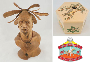 There is a wood carving festival at Millersville University on March 16 and 17, 2019