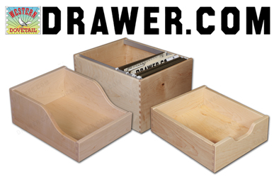 Western Dovetail, a supplier of dovetailed drawers, has upgraded its website