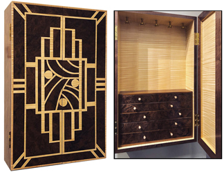 Wood & Shop is offering a class on veneering and wood inlay for furniture makers