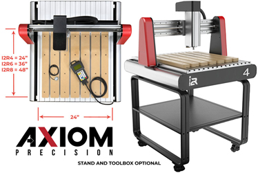 Axiom's new i2R CNC machining center.