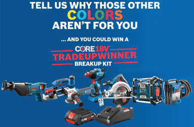 Bosch 'Break Up 2 Trade Up' Contest