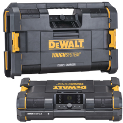 DeWALT ToughSystem 2.0 Radio and Charger