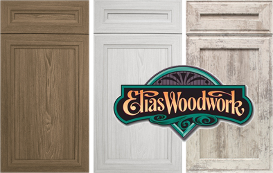 5-piece laminate (polyester) doors from Elias