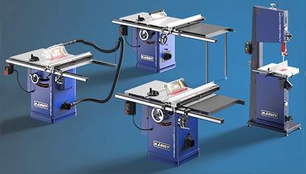 Harvey's Ambassador line consists of High-Quality, Affordable Machinery.