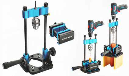 A Portable Drill Press from Rockler