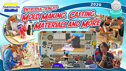 Mold making and casting classes from Smooth-On