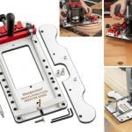 Woodpeckers Multi-Function Router Base Makes Dadoes, Grooves, Mortises and Arcs