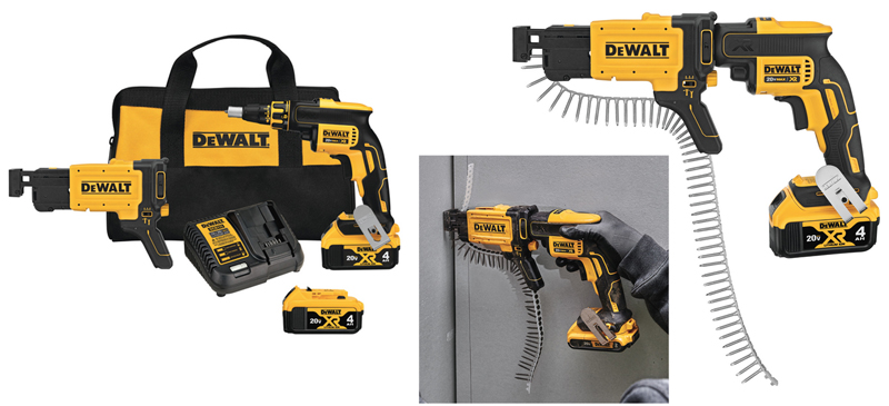 DeWALT DCF620CM2 drywall screw gun kit