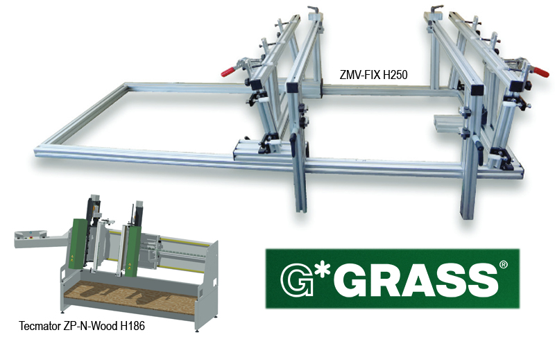Two new drawer assembly machines from Grass USA