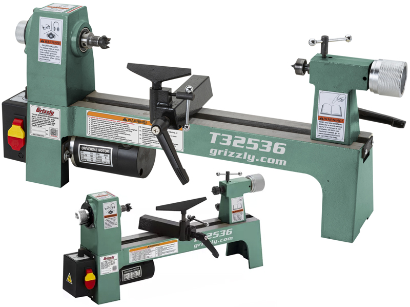 Grizzly T32536 lathe