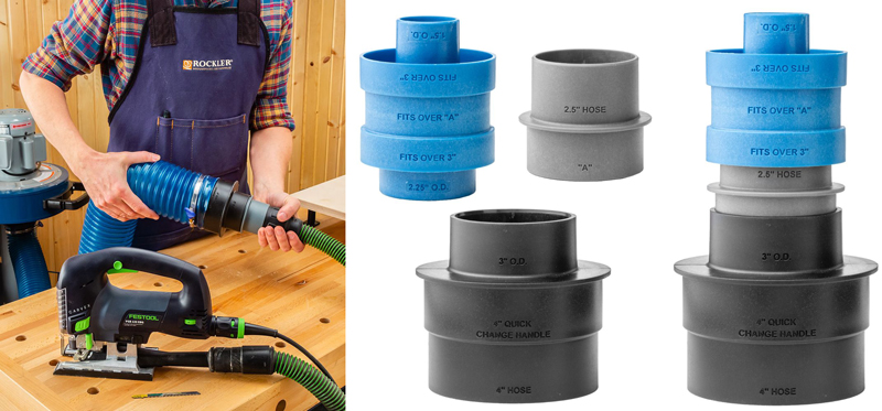 Rockler Dust Hose Adapter Set