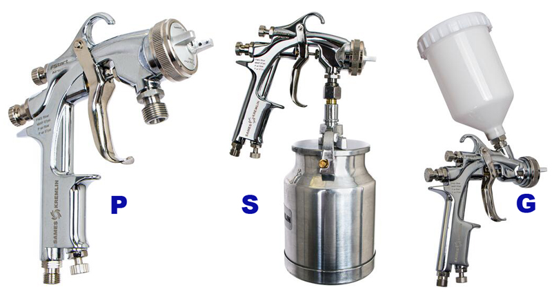Sames Kremlin's FStart Spray Guns
