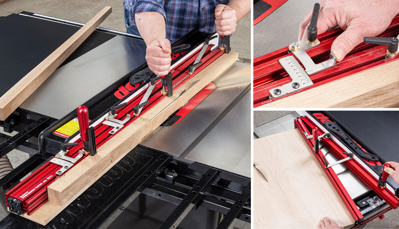 Precision Tapering Jig from Woodpeckers