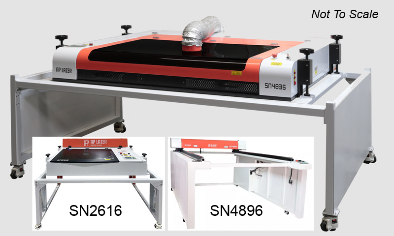 Three new lasers from AP Lazer