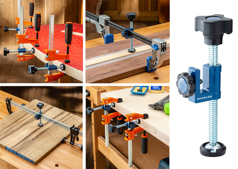 Rockler 3-way attachment for F clamps