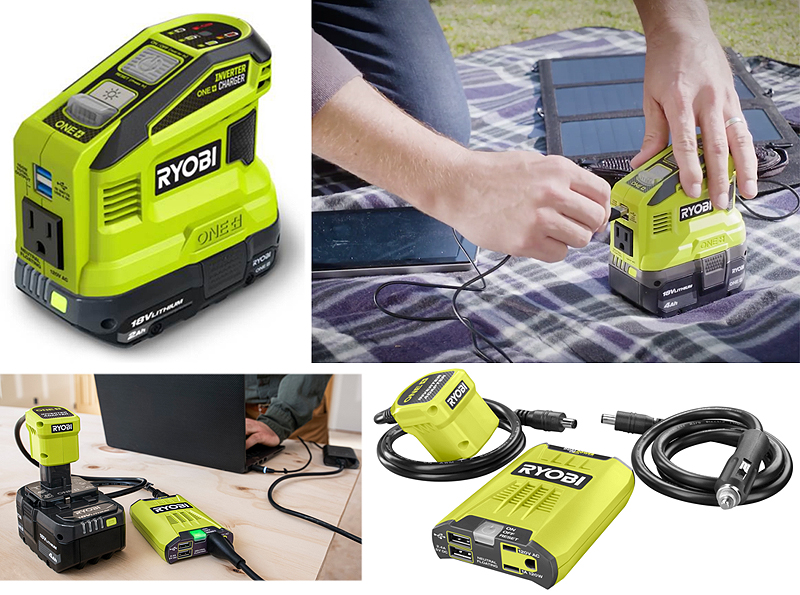 Two new power sources from Ryobi