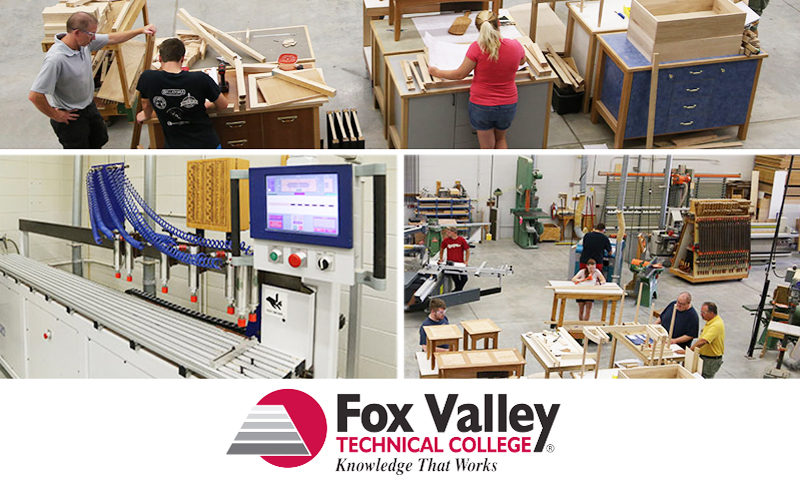 Wood Manufacturing Technology program at Fox Valley Technical College