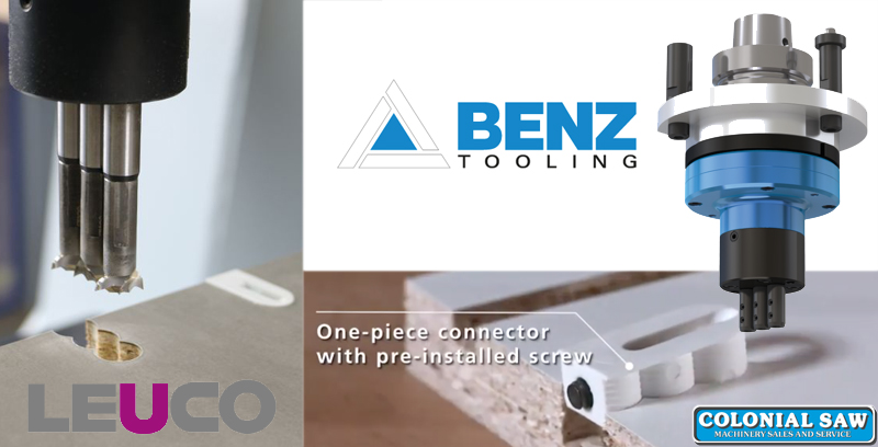 Leuco and Benz Offer One Stroke Drilling for Cabineo