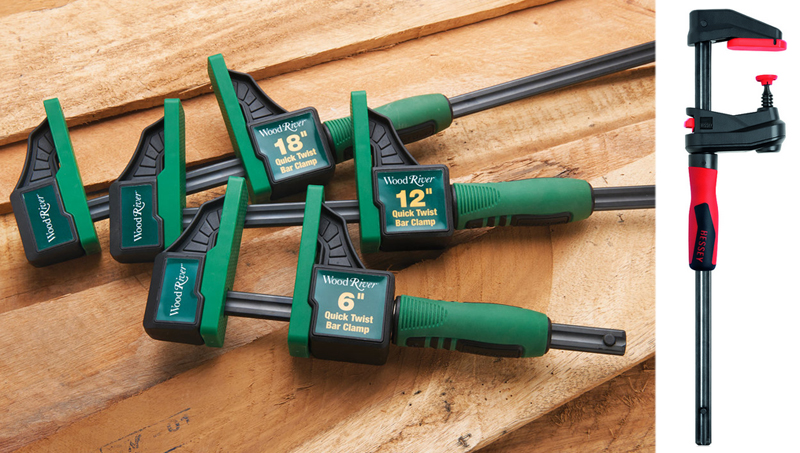 Quick Twist Bar Clamps from WoodCraft