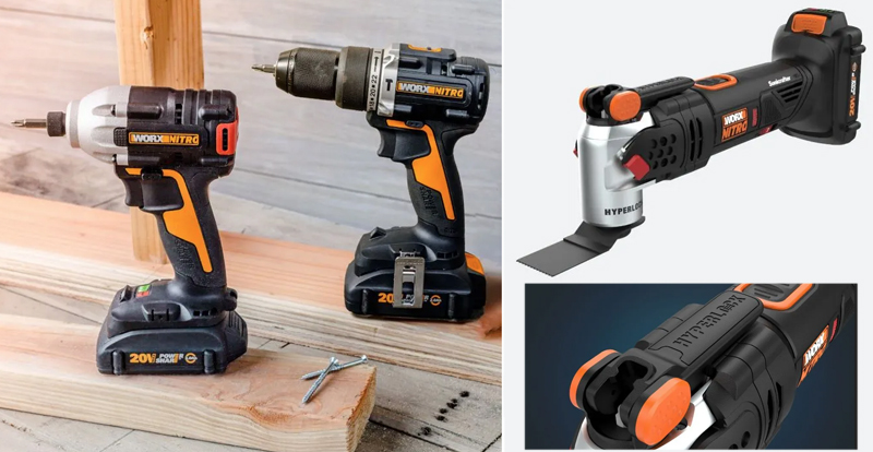 New power tools from Worx