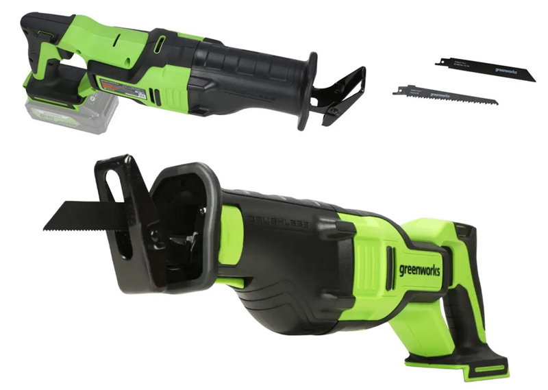 Greenworks Has a New 24V Brushless Reciprocating Saw