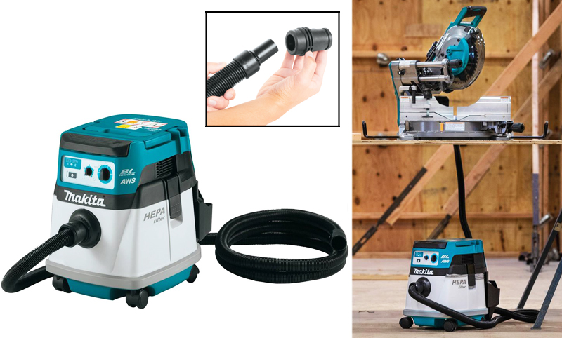 Quiet, Cordless Canister Vacuum from Makita Model XCV25