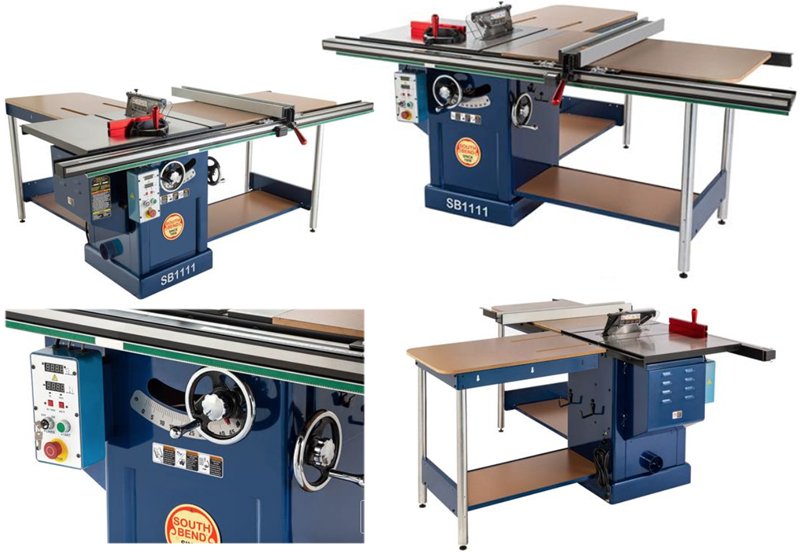 SB1111 Table Saw from South Bend