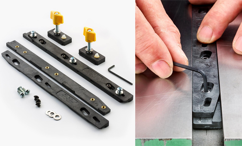 Zeroplay Miter-Slot Slider Bars from Lee Valley