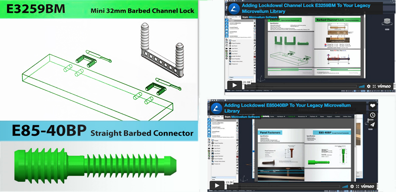 Newest Microvellum Software Includes Lockdowel Fasteners