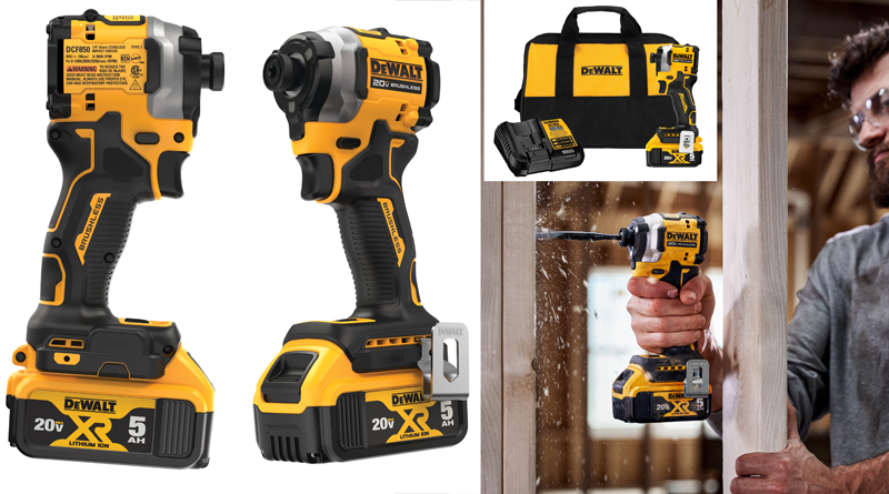 A Really Short Impact Driver and 3 Wrenches from DeWalt