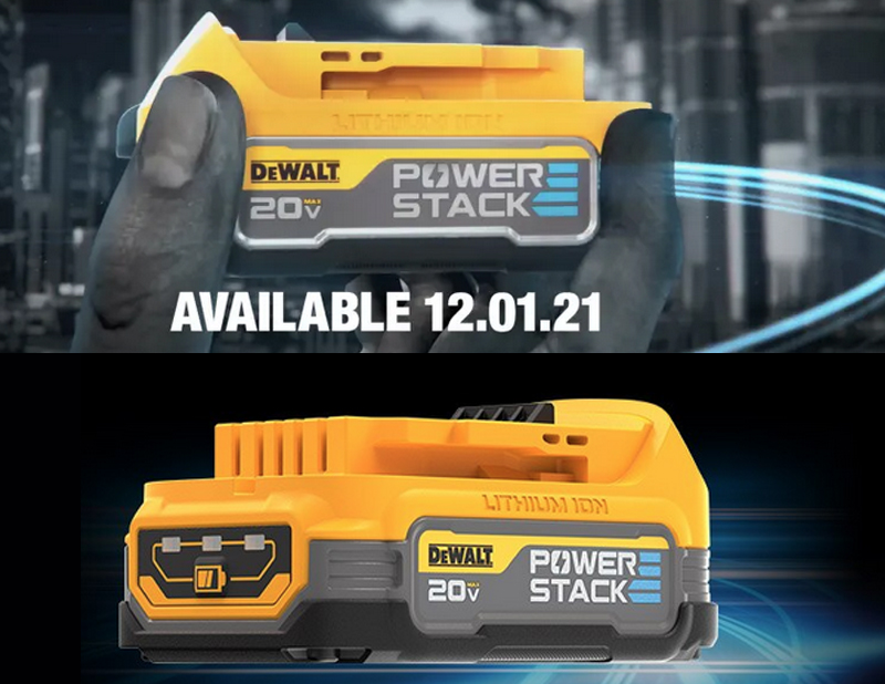 DeWalt Will Be the First Major Power Tool Brand to Use Pouch Cell Batteries
