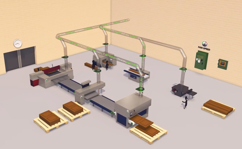 New Animated Movie from Ecogate Explains On-demand Dust Collection