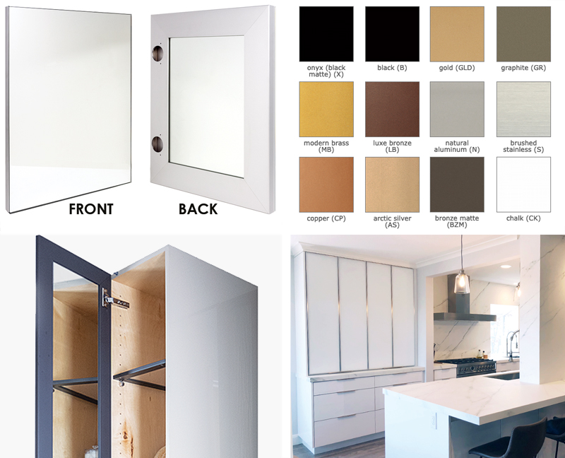 Two New Aluminum and Glass Door Options from Element Designs