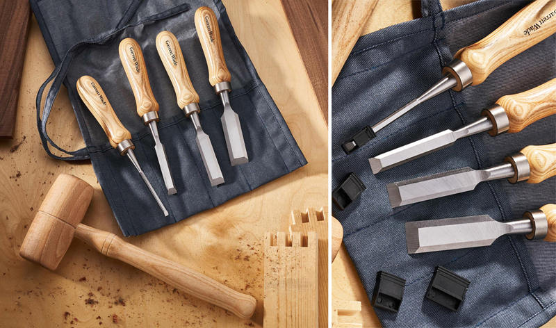 Chisels and Wooden Joinery Mallet Set from Garrett Wade