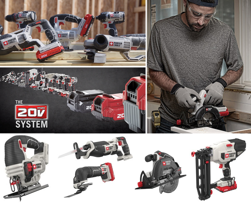 Tractor Supply Will Be the Exclusive Retailer for Porter-Cable Cordless Power Tools