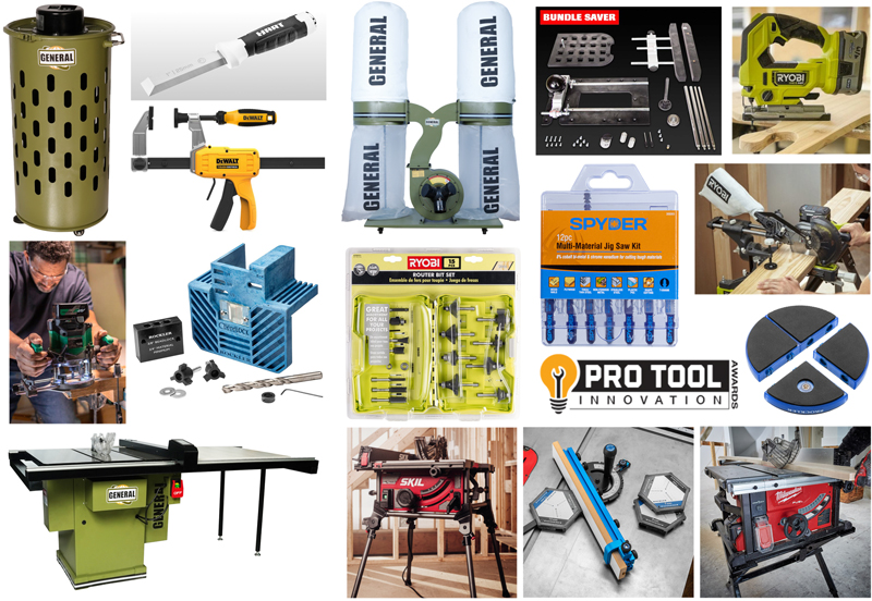 The 2021 Pro Tool Innovation Awards for Woodworking