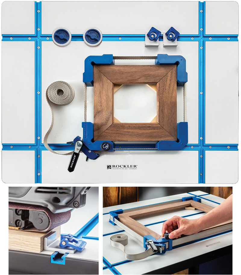 Rockler 20'' x 26'' T-Track Tabletop with Accessory Bundle